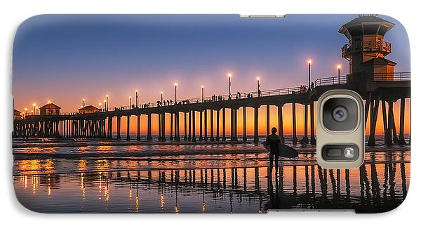 Galaxy Case featuring the photograph Surf City Usa by Hawaii  Fine Art Photography