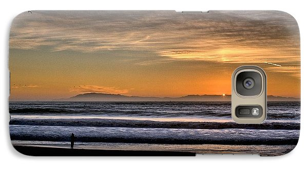 Galaxy Case featuring the photograph Surf Fishing by Michael Gordon