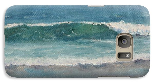 Galaxy Case featuring the painting Surf Series 5 by Jennifer Boswell