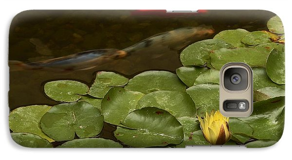 Galaxy Case featuring the photograph Surface Tension by Michael Gordon