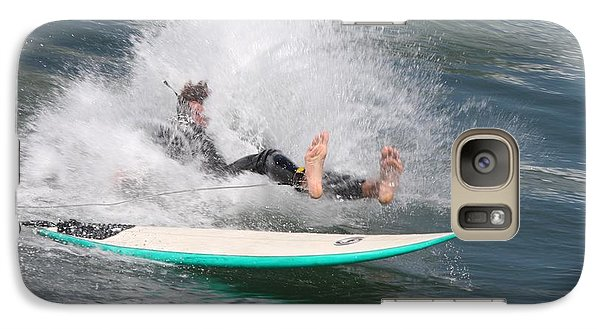 Surfer Wipeout Galaxy S7 Case by Nathan Rupert