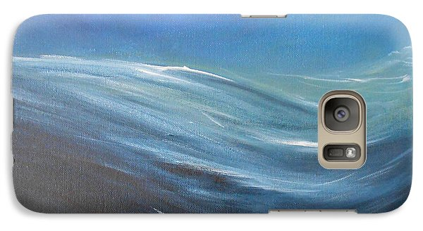 Galaxy Case featuring the painting Surge by Jane  See