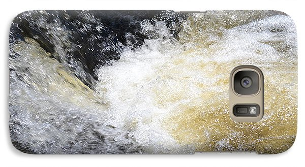 Galaxy Case featuring the photograph Surging Waters by Tara Potts