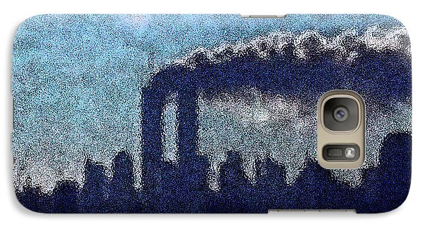 Galaxy Case featuring the digital art Surreal Silhouette  by James Kosior