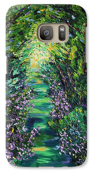 Galaxy Case featuring the painting Surrender by Meaghan Troup