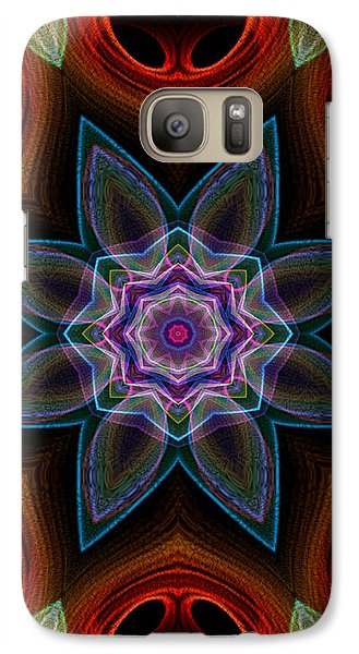 Galaxy Case featuring the digital art Surround by Owlspook