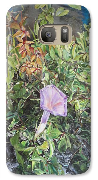 Galaxy Case featuring the painting Survival by Dottie Branchreeves