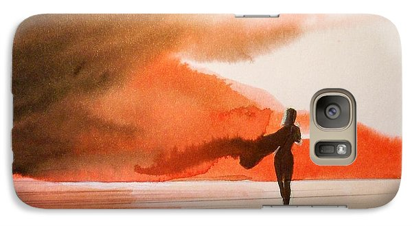 Galaxy Case featuring the painting Suva  by Ed  Heaton