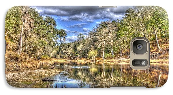 Galaxy Case featuring the photograph Suwannee River Scene by Donald Williams