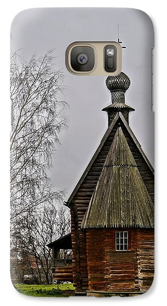 Galaxy Case featuring the photograph Suzdal Wooden Church by Julia Ivanovna Willhite