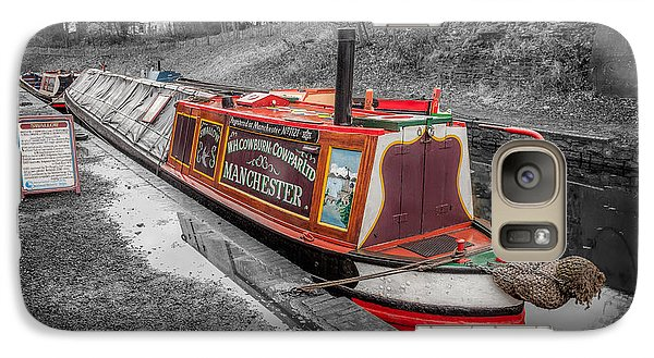 Swallow Galaxy S7 Case - Swallow Canal Boat by Adrian Evans