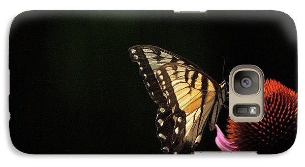 Galaxy Case featuring the photograph Swallowtail In The Light by Elsa Marie Santoro
