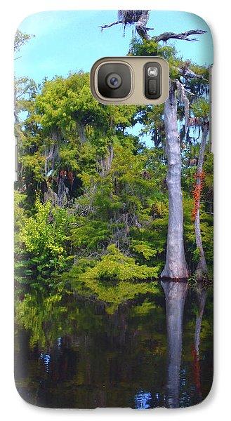 Osprey Galaxy S7 Case - Swamp Land by Carey Chen