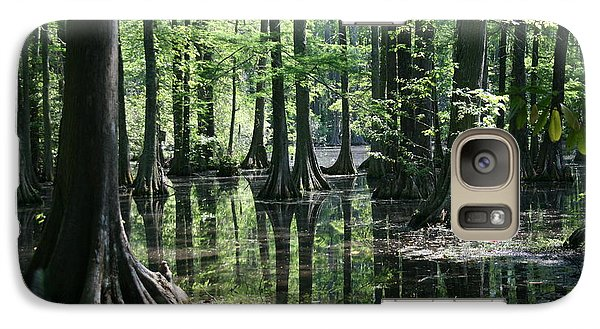 Galaxy Case featuring the photograph Swamp Land by Cathy Harper