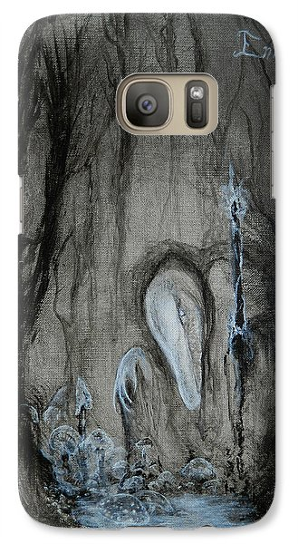 Galaxy Case featuring the painting Swamp Shaman by Christophe Ennis