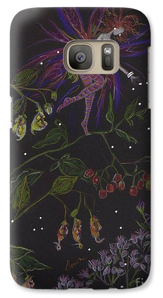 Galaxy Case featuring the drawing Swamp Walk by Dawn Fairies