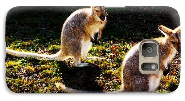 Swamp Wallabies Galaxy S7 Case by Miroslava Jurcik