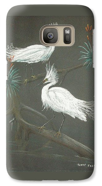 Galaxy Case featuring the pastel Swampbirds by Terry Frederick