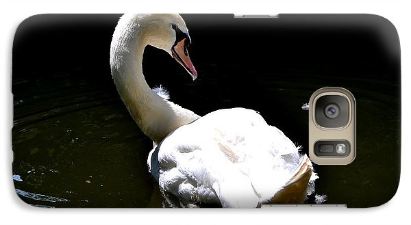 Galaxy Case featuring the photograph Swan Lake by Deena Stoddard