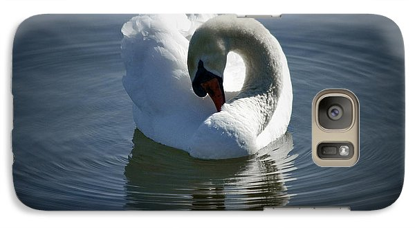 Galaxy Case featuring the photograph Swan Lake by Pennie  McCracken