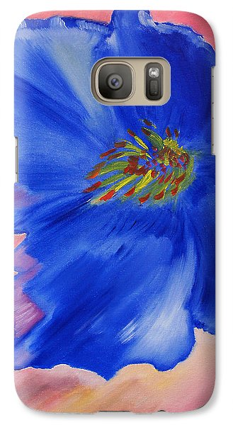 Galaxy Case featuring the painting Sway by Meryl Goudey