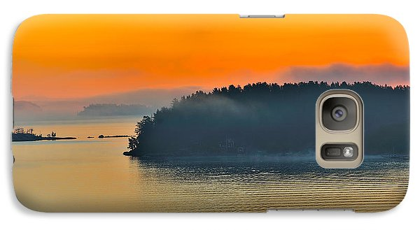 Galaxy Case featuring the photograph Swedish Sunrise by Marianne Campolongo