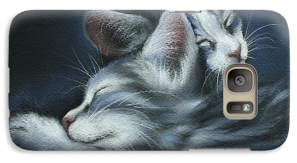 Galaxy Case featuring the drawing Sweet Dreams by Cynthia House