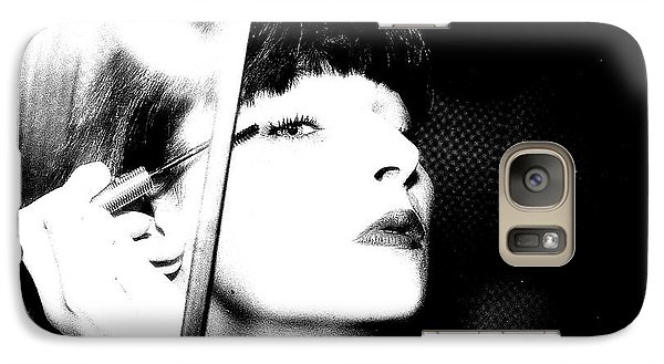 Galaxy Case featuring the photograph Sweet Lips Of Love by Steven Macanka