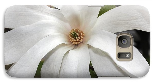 Galaxy Case featuring the photograph Sweet Magnolia by Judy Palkimas