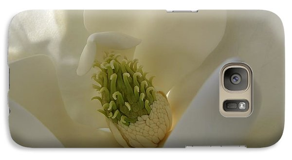 Sweet Magnolia Galaxy S7 Case by Peggy Hughes