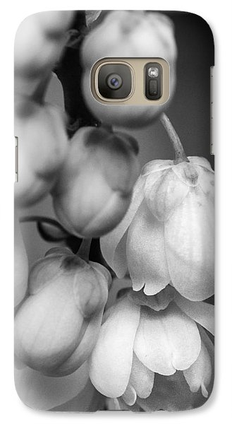 Galaxy Case featuring the photograph Sweet Mahonia Bloom by Patricia Schaefer