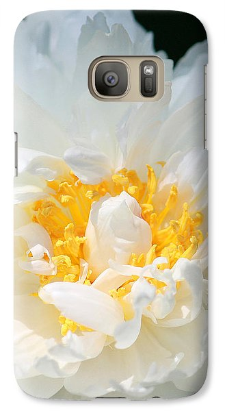 Galaxy Case featuring the photograph Sweet Peony by The Art Of Marilyn Ridoutt-Greene