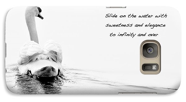 Galaxy Case featuring the photograph Sweetness And Elegance by Simona Ghidini