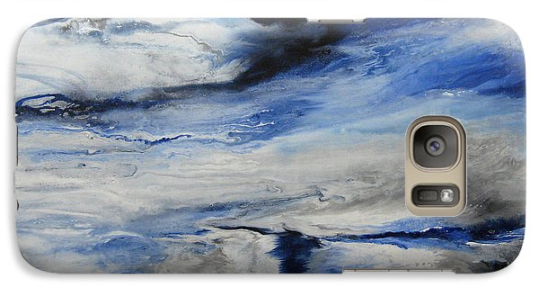 Galaxy Case featuring the painting Swept Away I by Elis Cooke