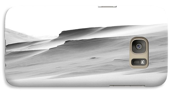 Galaxy Case featuring the photograph Swiftly Moving Dunes by Adria Trail