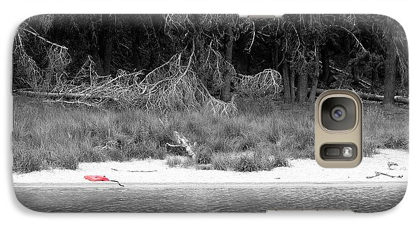 Galaxy Case featuring the photograph Swim For It by Erica Hanel