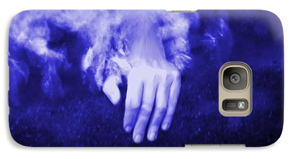 Galaxy Case featuring the painting Swimming Laps by Amanda Holmes Tzafrir