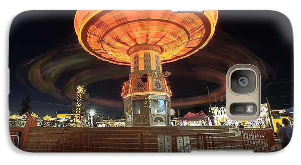 Galaxy Case featuring the photograph Swing At The Fair by Bob Noble Photography