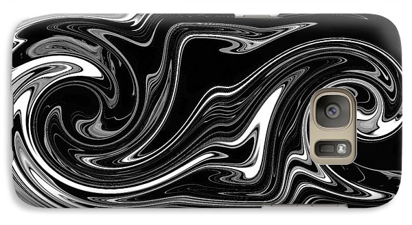 Galaxy Case featuring the digital art Swirl Of Everything And Nothing by rd Erickson