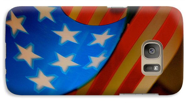 Galaxy Case featuring the photograph Swirled Stars by Cathy Dee Janes