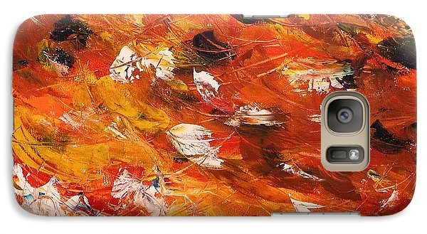 Galaxy Case featuring the painting Swirling And Dancing by John Williams