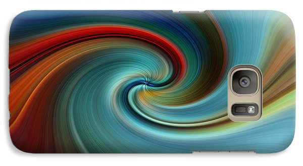 Galaxy Case featuring the photograph Swirling by Trena Mara