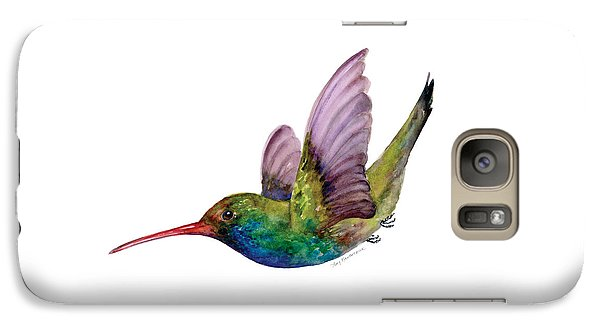 Swooping Broad Billed Hummingbird Galaxy S7 Case