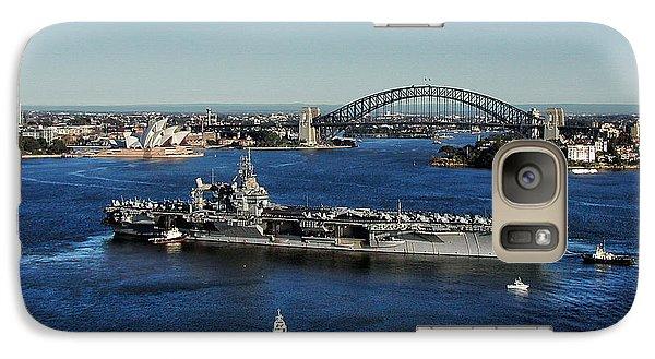 Galaxy Case featuring the photograph Sydney Harbor by John Swartz
