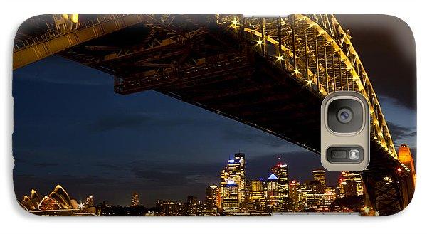 Galaxy S7 Case featuring the photograph Sydney Harbour Bridge by Miroslava Jurcik
