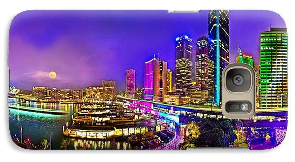Sydney Vivid Festival Galaxy Case by Az Jackson