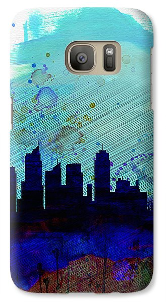 Sydney Watercolor Skyline Galaxy S7 Case