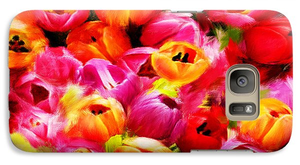 Symbol Of Love Galaxy Case by Lourry Legarde