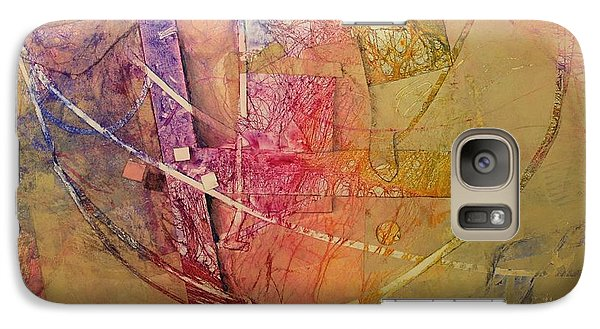 Galaxy Case featuring the painting Symphony I by Elizabeth Carr