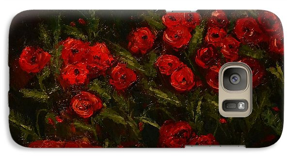 Symphony In Coquelicot Galaxy S7 Case